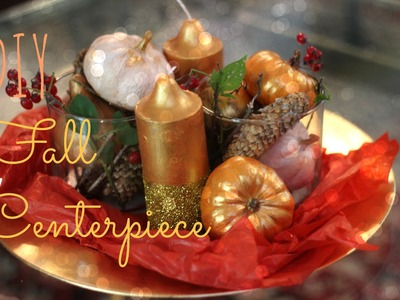 DIY Fall.Holiday Centerpiece collab w.MsBtrendy & BeautySplurge!