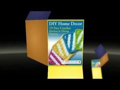 DIY Home Decor: 19 Free Crochet Kitchen and Dining Patterns
