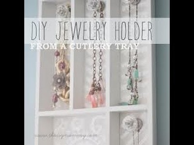 DIY HOW TO MAKE 2 JEWELRY ORGANIZER UNDER 7 USD