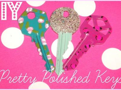 ♥ DIY Pretty Polished Keys ♥