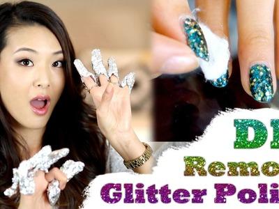 DIY Remove Glitter Polish FAST & EASY!!!