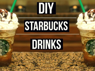 DIY Starbucks Drinks | Smore's, Cookie Crumble, Java Chip Fraps!