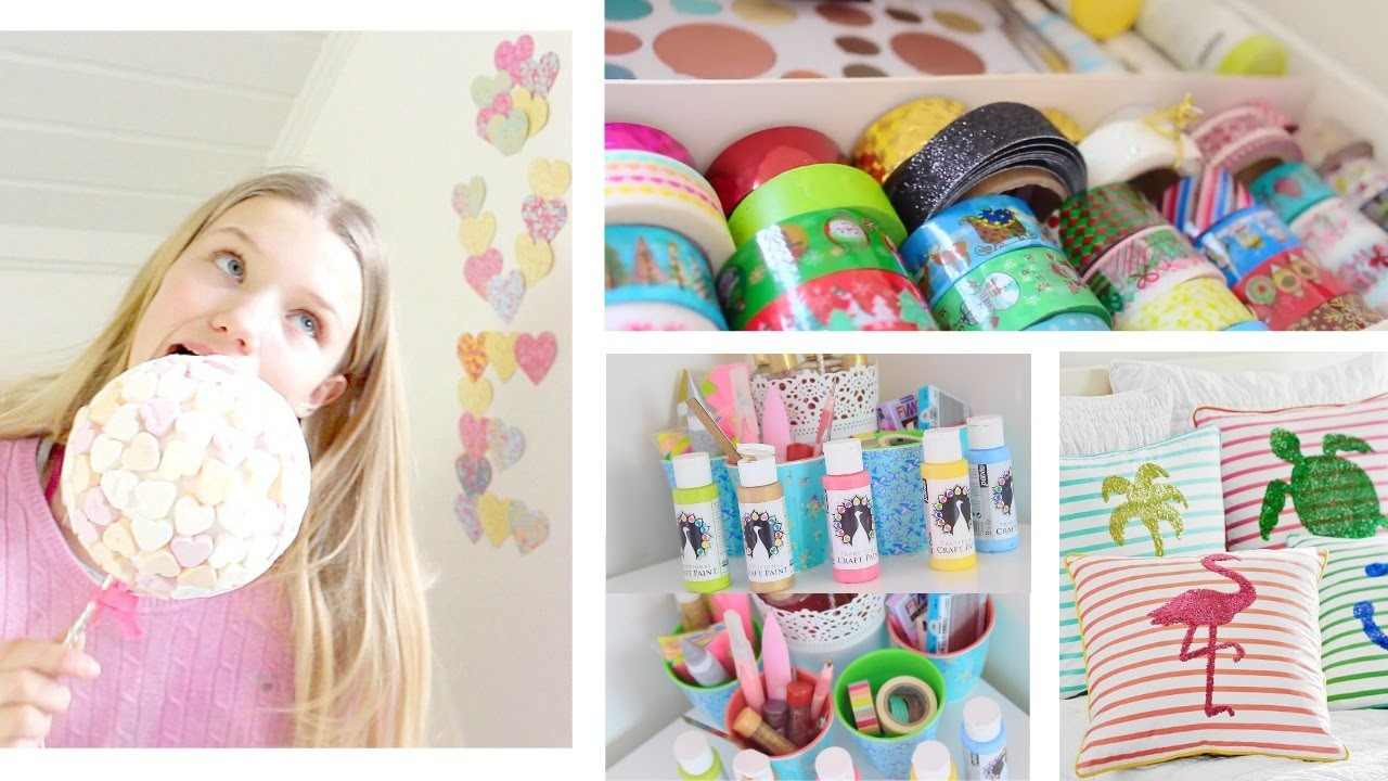 DIY Tumblr Room Decor for SPRING & SUMMER! Cute & Affordable! +Organizing!