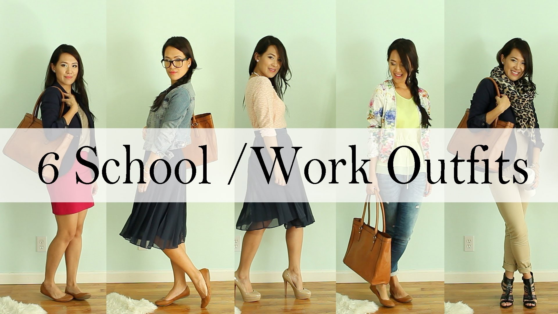 Dress It Yourself: 6 Back to School & Work Outfit Ideas by ANNEORSHINE