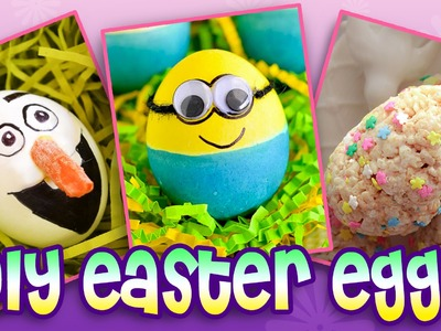 Easter Eggs | Top 10 DIY Easter Egg Ideas!