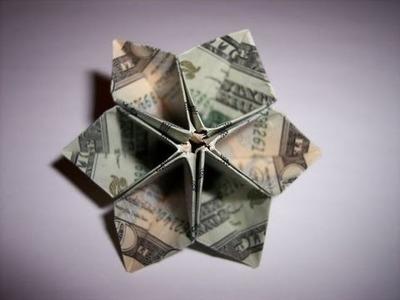 Easy Money Origami Flower