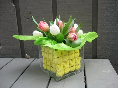 Fun and Easy Peeps Easter Centerpiece Craft Tutorial Craft Klatch