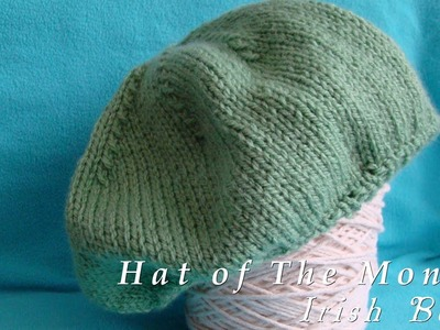 Hat of The Month  | March 2013  |  Irish Beret