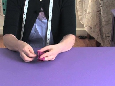 How to Hand-Sew a Stretch Stitch : Sewing Lessons