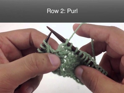How to Knit the Simple Cable Stitch