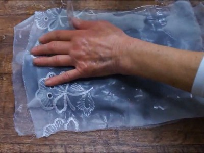 How to make felted wristwarmers