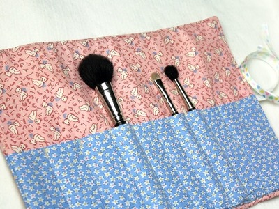 How-to: Makeup Brush Carrier by Crafty Gemini