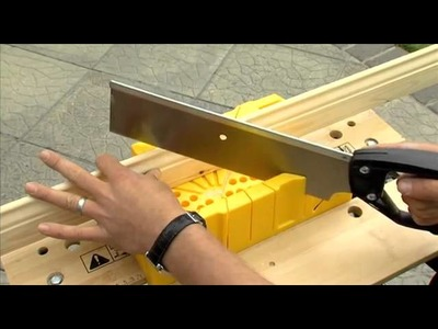 How to Use a Mitre Box