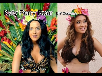 Katy Perry Roar DIY Halloween Costume $20 or Less
