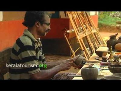 Kerala Coconut Shell Handicraft