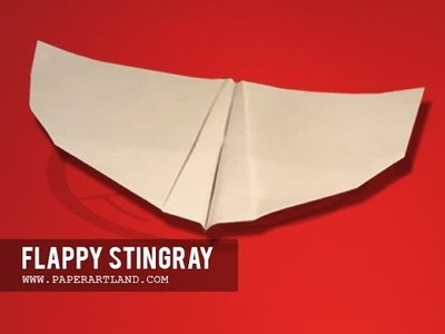 Let's make a Flapping Paper Plane | The Stingray [ Tri Dang ]