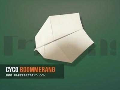 Let's make a paper plane that FLIES BACK | Cyco ( Tri Dang )