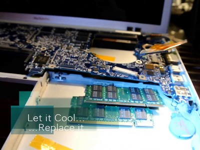 Macbook Pro Logic Board Repair DIY - Baking Method