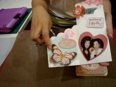 Mother's Day Accordian Cards 2010