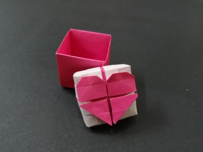 Origami Heart Tutorial: How to fold Origami Heart Box