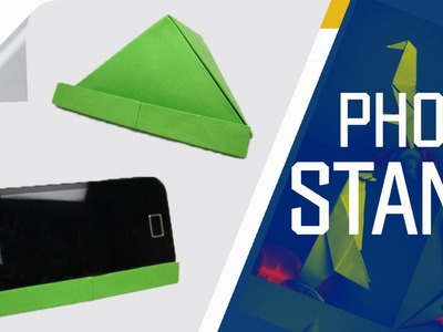 Origami - How To Make An Origami Phone Stand.Holder