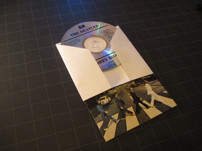 Origami: Sleeve for CD. DVD and liner notes