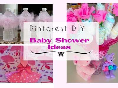 Pinterest DIY Baby Shower Ideas for a Girl
