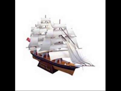 Sailship Papercraft - download papercraft templates and create Your Own ship Papercraft