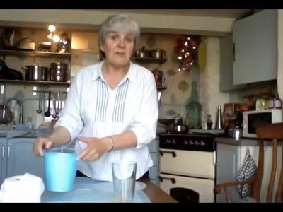Series 1 - part 20 - Making papier-mache beads - 1