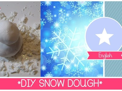 Snow dough Tutorial (2 ingredients only) - DIY Winter activities and sensory games for children