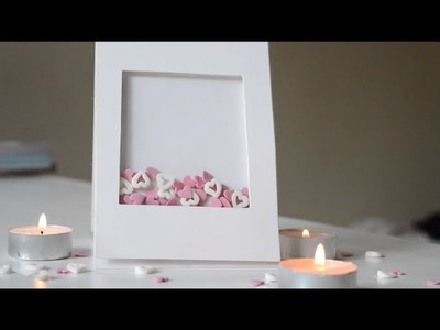 Valentine's Day Shaker Card DIY