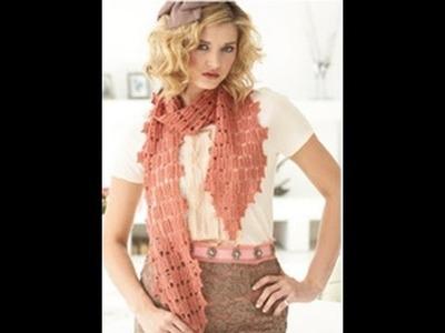 #26 Drop Stitch Scarf, Vogue Knitting Spring.Summer 2010