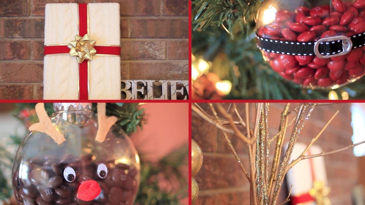 4 Easy Christmas DIYs & Gift Ideas | LaurDIY