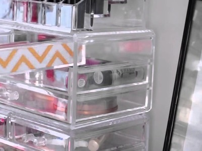 7 Easy DIY Makeup Storage Ideas!