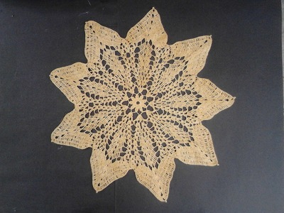 Carpeta crochet estrella 1 de 2