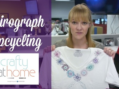 Crafty at Home - Spirograph Projects