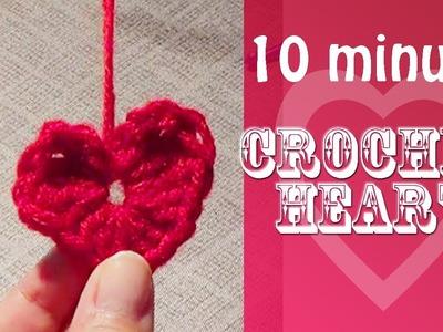 Crochet Heart - 10 Minute Project