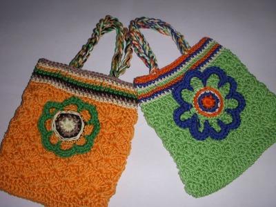 Crochet mini bag part-1