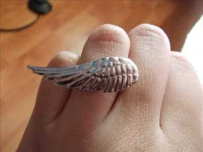 DIY- Angel Wing Ring