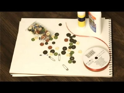 DIY Art Using My Mother's Buttons : Art & Drawing Tips