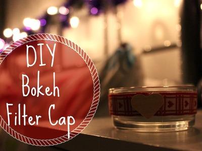 DIY Bokeh Filter Caps | dazedandbeautiful ❄