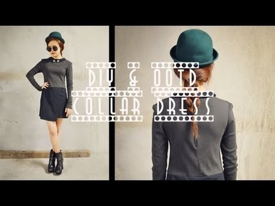 DIY Collar Dress & Chictopia Giveaway