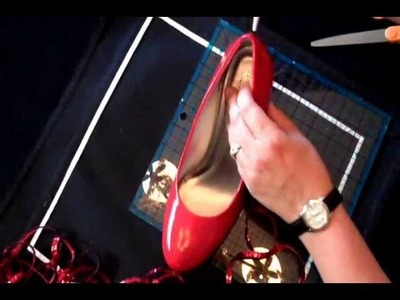 DIY How to make The Red Slippers Judy Garland wore in The Wizard of Oz