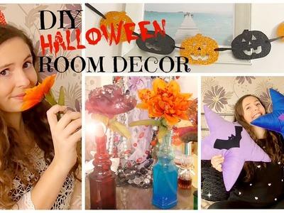 DIY ROOM DECOR HALLOWEEN SPECIAL l JasmineStarler