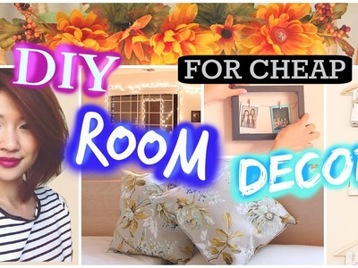 DIY: Room Decoration Ideas! 7 Easy & Simple Projects