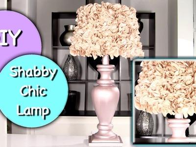 DIY Shabby Chic Lamp and Shabby Chic Lamp Shade!
