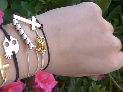 DIY: SUPER EASY BRACELETS!