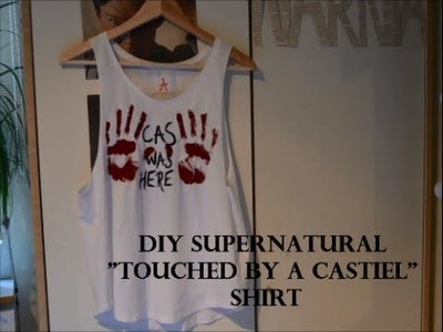 DIY Supernatural shirt