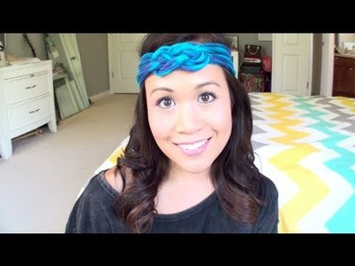 DIY T-Shirt Headband | No Sew | Sailor Knot