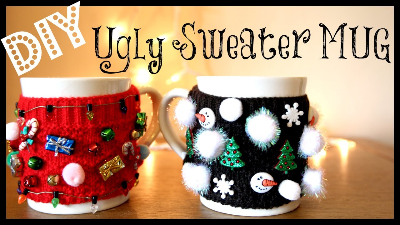 DIY Ugly Sweater MUG!!! | MissJenFABULOUS
